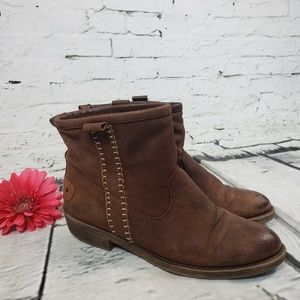 Altar'd State Briwn Bootie Size 8